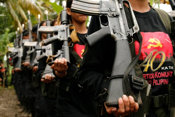 New People's Army (NPA) fighters