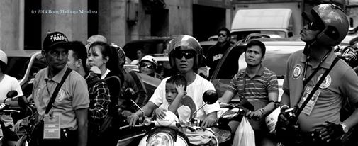 Ang astig at ang balisa (photo taken during Chinese New Year celebration, Manila Chinatown, Jan 2014)