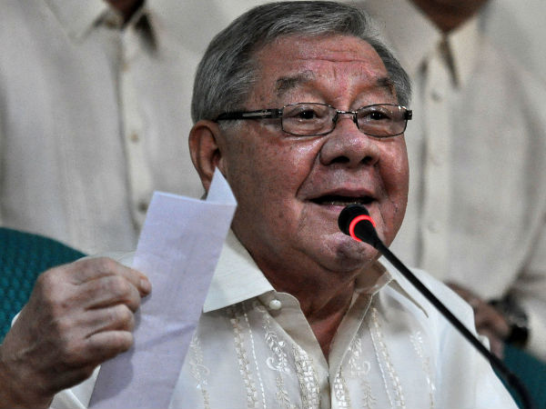 House Speaker Feliciano Belmonte, Jr. (photo from Inquirer)