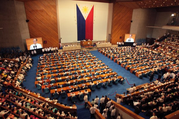 Philippine Congress hears President Aquino's SONA