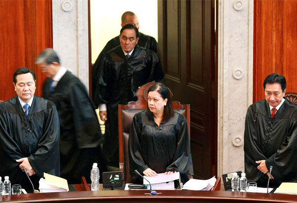Supreme Court on DAP (photo from Philstar)