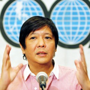 Bongbong claiming the world is round