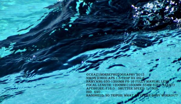 Dingalan miniwaterfall extreme closeup