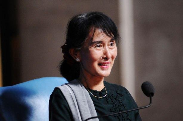 Myanmar opposition leader Daw Aung Suu Kyi