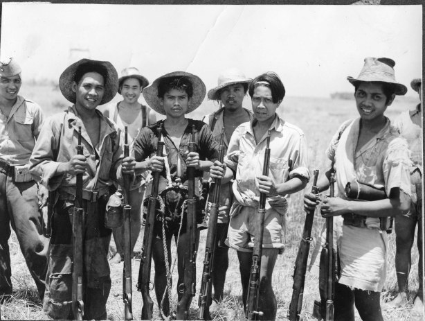 Filipino anti-Japanese guerillas in Mindanao